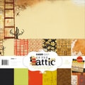 "In The Attic Paper Pack 12""X12""-"