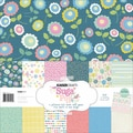 "Suga Pop Paper Pack 12""X12"" 13 Sheets-"