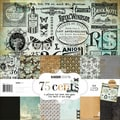 75 Cents Paper Pack 12&quot;X12&quot;-