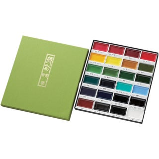 Kuretake Gansai Tambi 24 Color Set-
