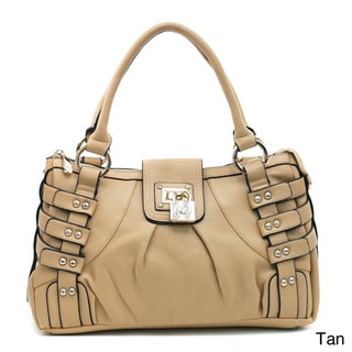 Anais Gvani Fashion Strapped Studded Shoulder Bag
