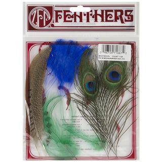 Feather Kit-1 Each Peacock/Pheasant/Hackle/Plumage