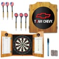 Chevy Dart Board Cabinet Set