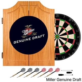 Miller Draft Dart Cabinet Set