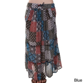 Patch Long Gypsy Skirt (Nepal)