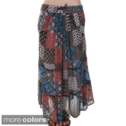 Patch Long Gypsy Skirt (Nepal)