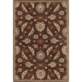Hand-tufted Ejnar Brown Oriental Wool Rug (2' x 3')