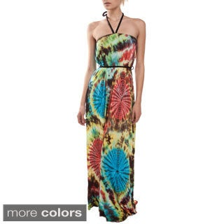 Greek Goddess Tie/Dye Dress (Nepal)