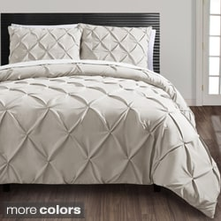 Carmen 3-piece Duvet Cover Set with Additional Shams Available