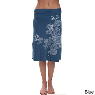 Paisely Burst Organic Cotton Wrap Around (Nepal)