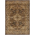 Bartram Traditional Brown Oriental Rug (5'2 x 7'6)