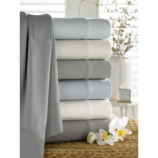 Organic Rayon from Bamboo Collection 300 Thread Count Pillowcases (Set of 2)