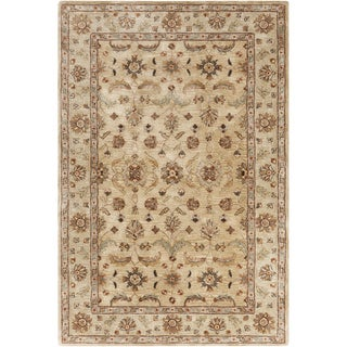 Hand-tufted Anders Traditional Ivory Oriental Rug (5' x 8')