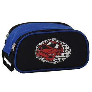 Obersee Racecar Kids Toiletry / Accessory Bag