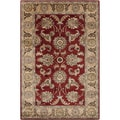 Hand-tufted Ailsa Red Oriental Rug (2' x 3')