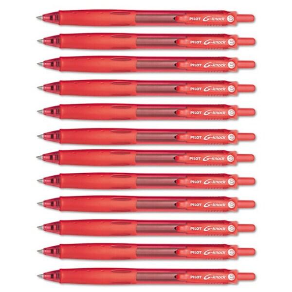 G-Knock BeGreen Retractable Gel Ink Pens (Pack of 12)