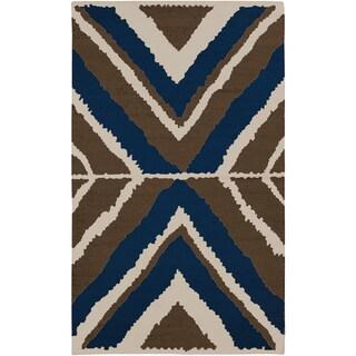 Beth Lacefield Hand-woven Adonis Flatweave Wool Rug (3'3 x 5'3)