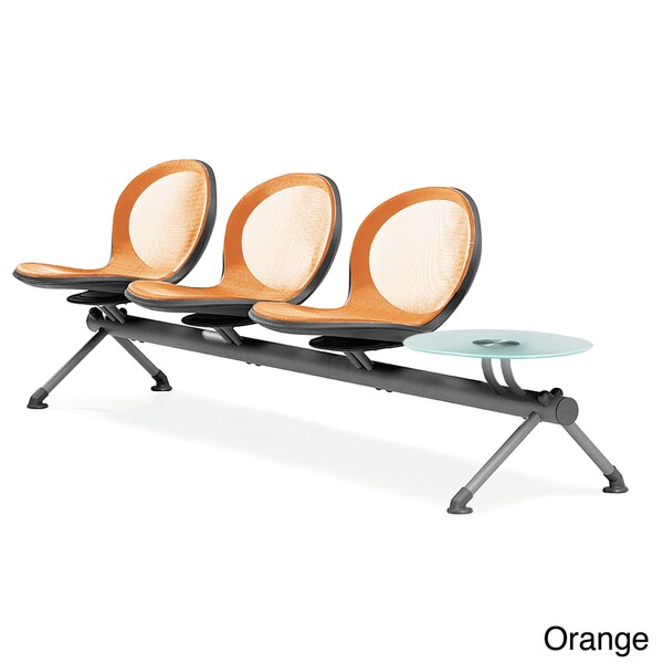 OFM NET Series 4-piece Beam Seat and Table Unit