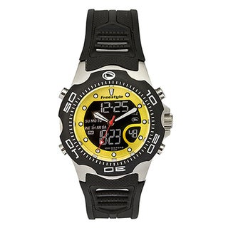 Freestyle Men's 'Shark' Black Analog/ Digital Watch