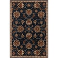 Hand-tufted Ebba Blue Wool Rug (8' x 11')