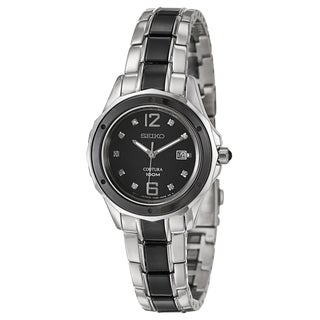 Seiko Women's 'Coutura' Two-tone Stainless Steel Watch