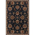 Hand-tufted Ebba Blue Wool Rug (12' x 15')