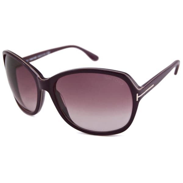 Tom Ford Women's TF0186 Sheila Square Sunglasses