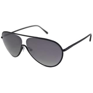 Tom Ford Men's TF0204 Cecillio Black/Gray Gradient Aviator Sunglasses