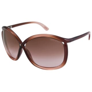Tom Ford Women's TF0201 Charlie Rectangular Sunglasses