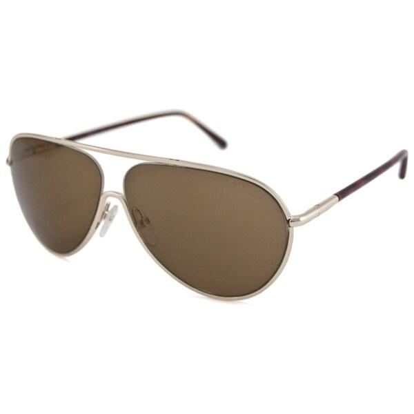 Tom Ford Men's TF0204 Cecillio Aviator Sunglasses