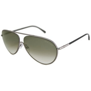 Tom Ford Men's TF0204 Cecillio Impact-Resistant Aviator Sunglasses