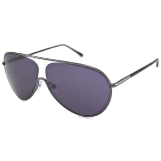 Tom Ford Men's TF0204 Cecillio Aviator Sunglasses with Adjustable Nose Pads