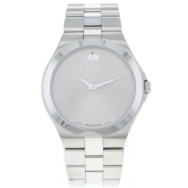 Movado Men's Classic Steel Watch