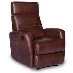 Oslo Mocha Leather Recliner