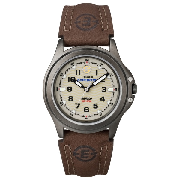 Timex Women's Expedition Metal Field Olive Green Dial Watch