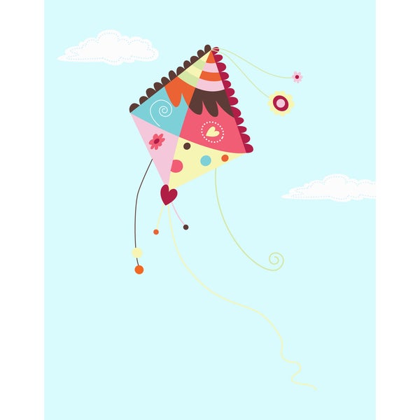 Kite in the Sky Print Art Print