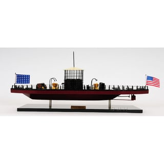 Old Modern Handicrafts U.S.S. Monitor Ironclad Warship Model