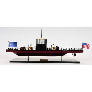 Old Modern Handicrafts U.S.S. Monitor Ironclad Warship Model