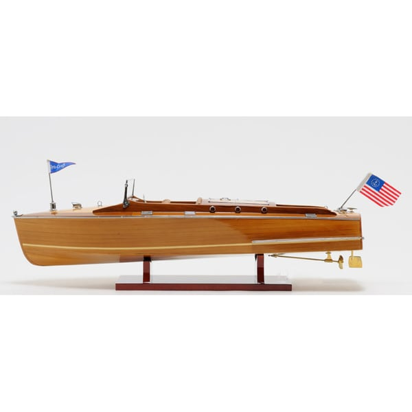 Old Modern Handicrafts Christ Craft Runabout Medium Model Boat