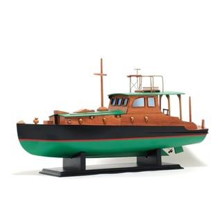 Old Modern Handicrafts Hemingway Pilar Boat Model Boat