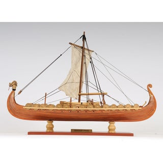 Old Modern Handicrafts Viking Small Model Boat
