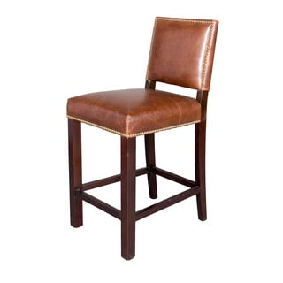 Winston Leather Counter Stool