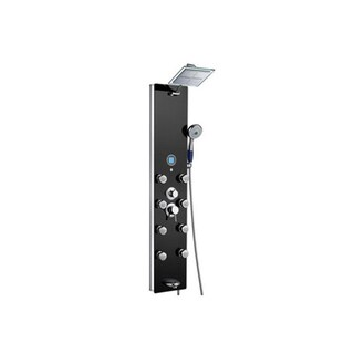 Blue Ocean Lightweight 52-Inch Aluminum Shower Panel Tower with Rainfall Shower Head