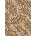 Woven Indoor/ Outdoor Captiva Beige/ Brown Patio Rug (4'4 x 6'1)