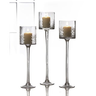 Fifth Avenue Crystal Wellington Candle Holders (Set of 3)