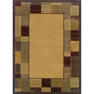Indoor Beige/ Brown Area Rug (9'10 x 12'9)