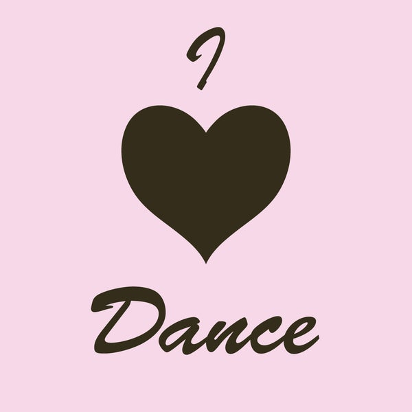 I Heart Dance Art Print