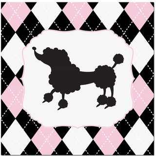 Princess Poodle Art Print