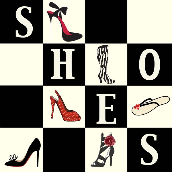 Shoes Shoes Shoes Art Print