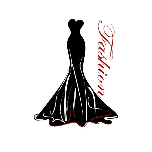 Fashion Gown Art Print